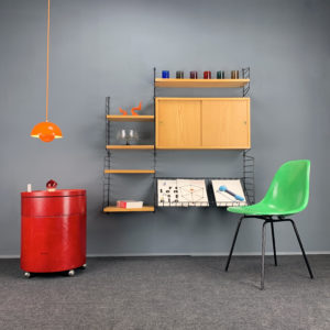 Ankauf von Designmöbeln String-Regal Eames Panton