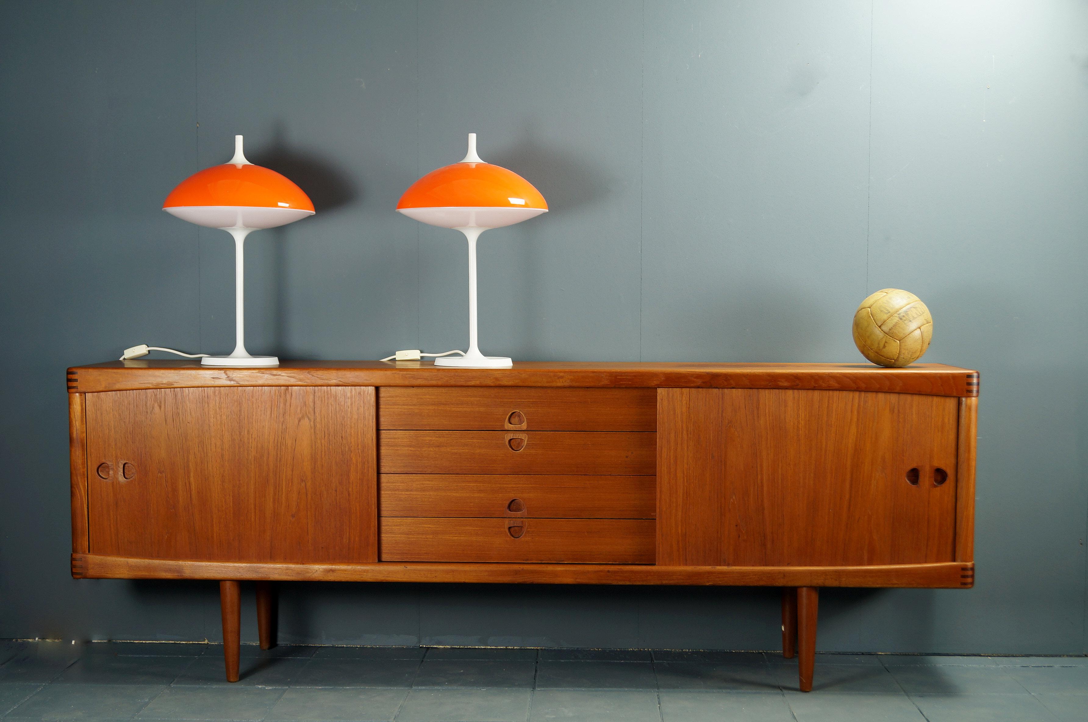 flex mid century vintage design n rnberg 2er set space age tischleuchten von temde. Black Bedroom Furniture Sets. Home Design Ideas