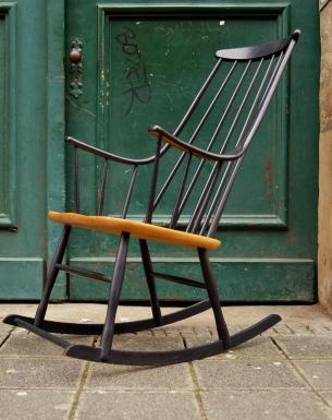 Flex mid century vintage design n rnberg for Schaukelstuhl lena larsson