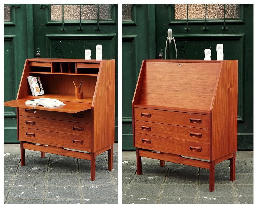 flex mid century vintage design n rnberg mid century teak sekret r dyrlund. Black Bedroom Furniture Sets. Home Design Ideas