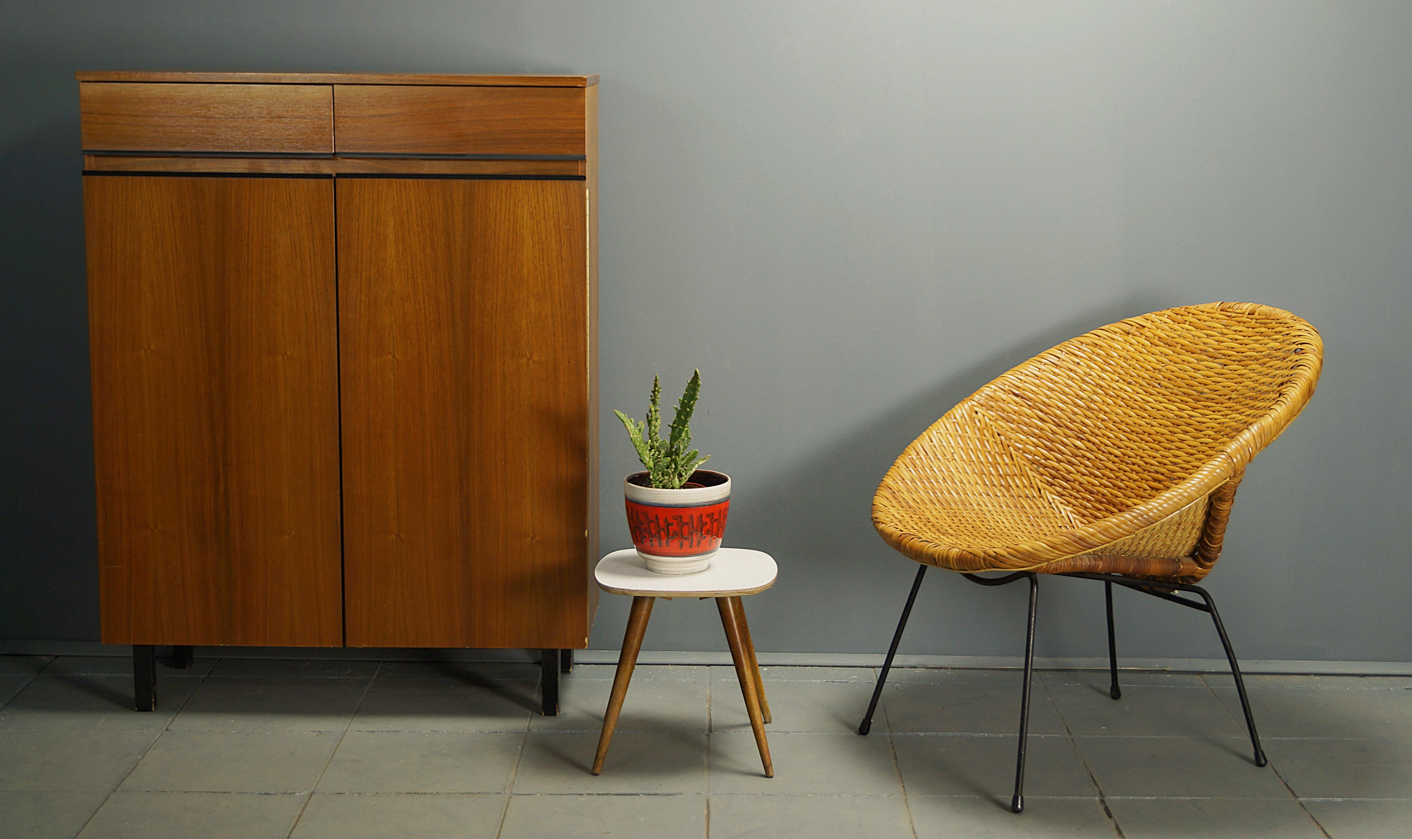 Flex Mid Century Vintage Design Nurnberg Mid Century Rattan