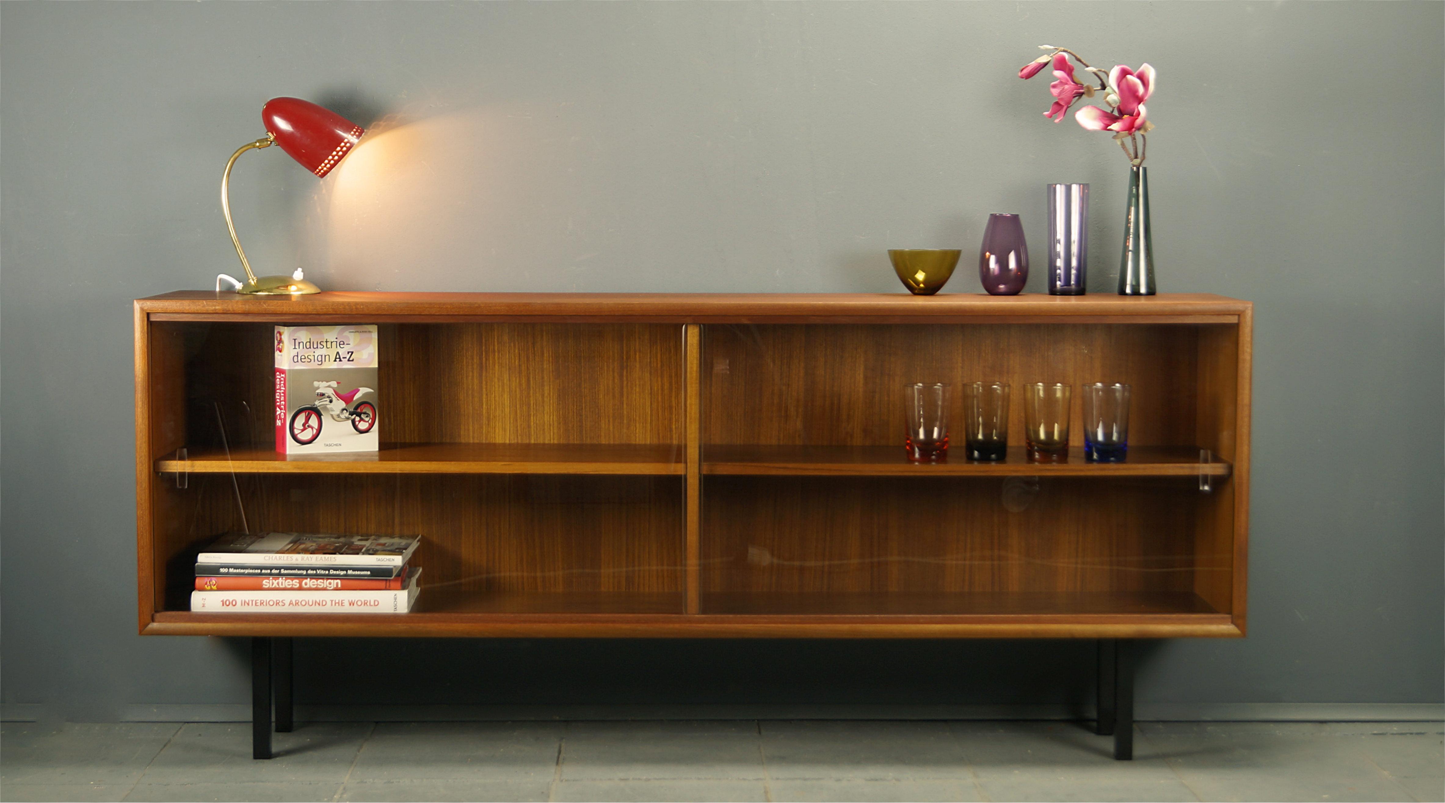 Flex Mid Century Vintage Design Nurnberg 60s Glasvitrine