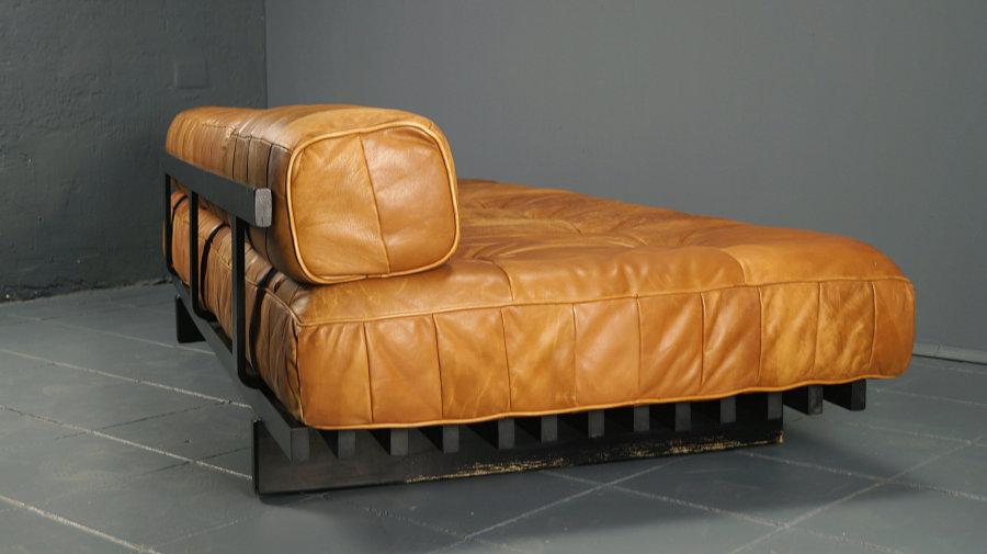 flex mid century vintage design n rnberg patchwork daybed ds80 ds 80 von de sede. Black Bedroom Furniture Sets. Home Design Ideas
