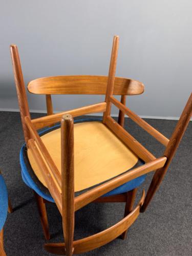 Teak-Stühle Dänemark