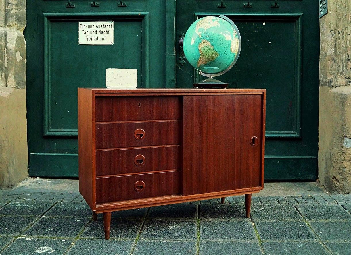 Massivholzmöbel sideboard modern  flex! mid century vintage design nürnberg » mid century modern kommode
